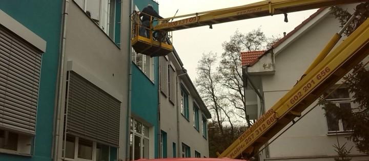 Mytí oken a leštění ve výšce Praha